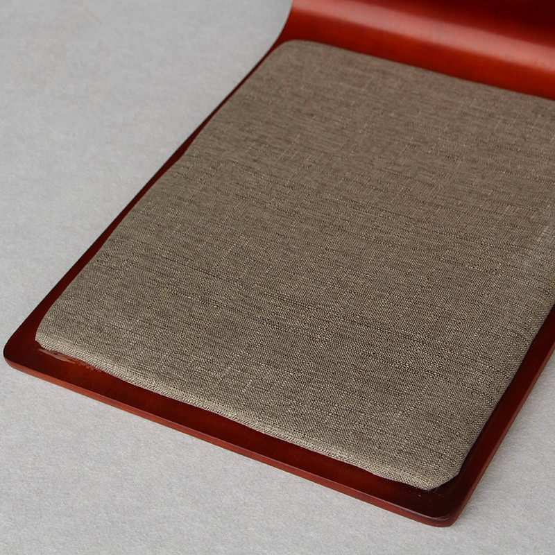 (4 pcs / lot) Lantai Jepang Kursi Mahoni Furniture Ruang Tamu Kursi - Mebel - Foto 3