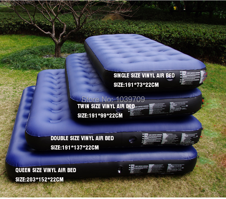 twin bed air mattress Jilong outdoor camping series twin size vinyl air bed air mattress  twin bed air mattress