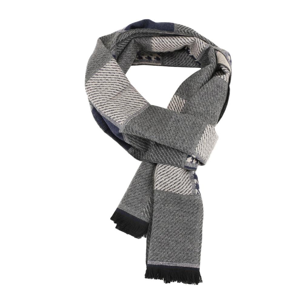 1 Pcs Klassische Faux Kaschmir Schal Mode Männer Houndstooth Schals Winter Plaid Decke Warme Weiche Bequeme Schals