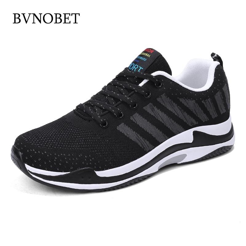 BVNOBET décontracté léger adulte hommes formateurs confortable à lacets hommes baskets chaussures de plein air pour homme erkek spor ayakkabi