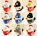 Creative New Year of the Rooster mascot plush toys super cute fun New Year's gift birthday gift free shipping
