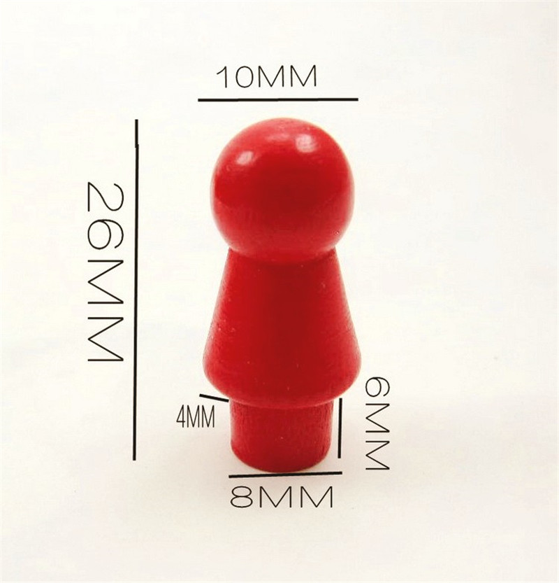60Pcs/Set Chess Pieces Board Game Accessories Wood Pawn/Chess Card Pieces For Board Game And Other Games Accessories
