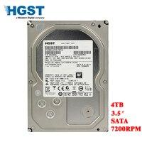 HGST бренд 4 ТБ настольных ПК 3,5 внутреннего механического жесткого диска SATA3 6 ГБ/сек. HDD 4 T 7200 об/мин 128 MB буфера Бесплатная доставка