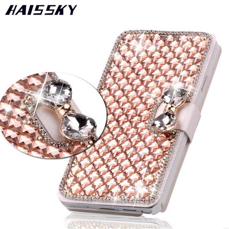 Bling Crystal Flip Rhinestone Phone Case For Samsung Galaxy S10 Plus S10e Note 4 3 S4 S5 S6 S7 Edge S8 S9 Plus Diamond Bag Case Regular Tea Drinking Improves Your Health