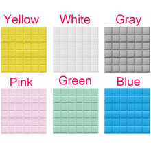 3D PE Foam DIY Wall Stickers Square Wall Panels For Kids Room Safty Home Decor Self adhesive Wallpaper Living Room Wall Decals