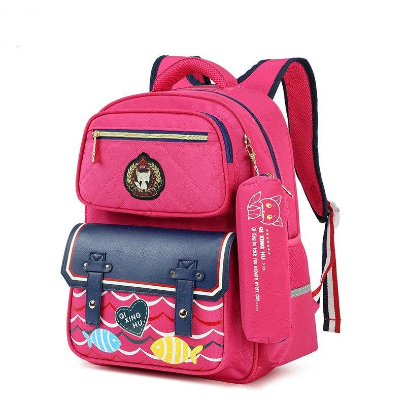 children school bags girls boys school bag orthopedic schoolbags printing backpack kids primary school backpack mochila infantil