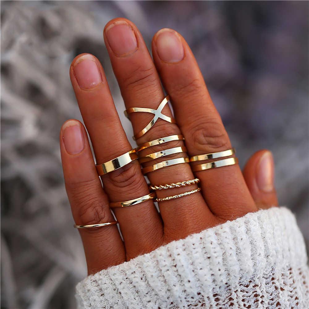 Женское кольцо ручной работы с геометрическим рисунком