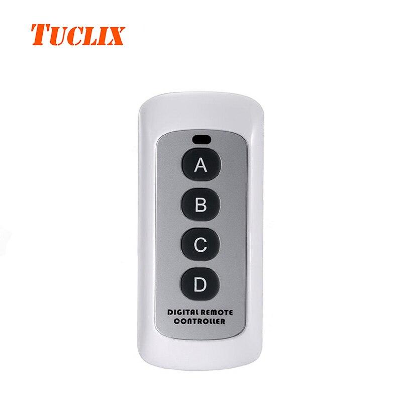 Tuclix pared interruptor Accesorios, regulador alejado RF, interruptor remoto controlador blanco