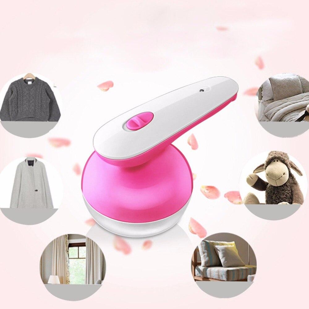 1 PZ Compatto Leggero Pillole di Abbigliamento Lint Fuzz Rimozione Elettrico In Acciaio Inox Frullatore Tessuti Maglione Fuzz Shaver Casa