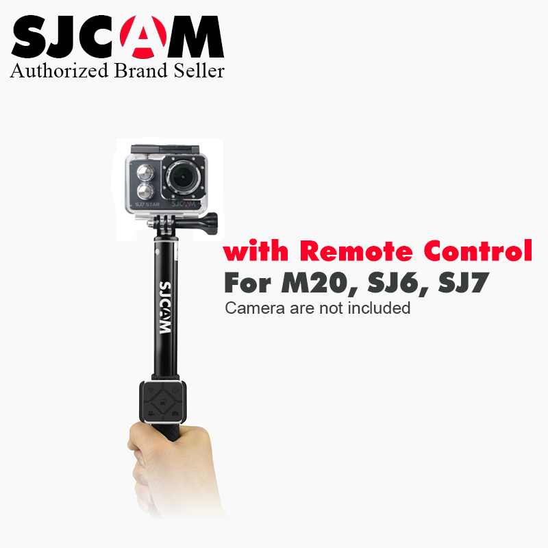 Original !SJCAM Sj7 star sj6 legend M20 Sports Action Camera Remote Monopod &Watch Remote Control for SJ CAM Sports Accessories