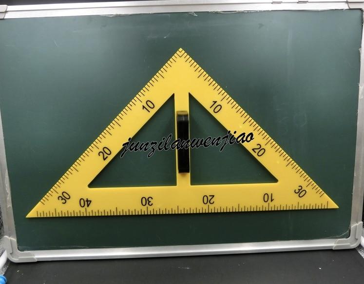 Plastic Protractor Large Squares Supplies Compasses School Supplies For Teachers 4 Pieces/set