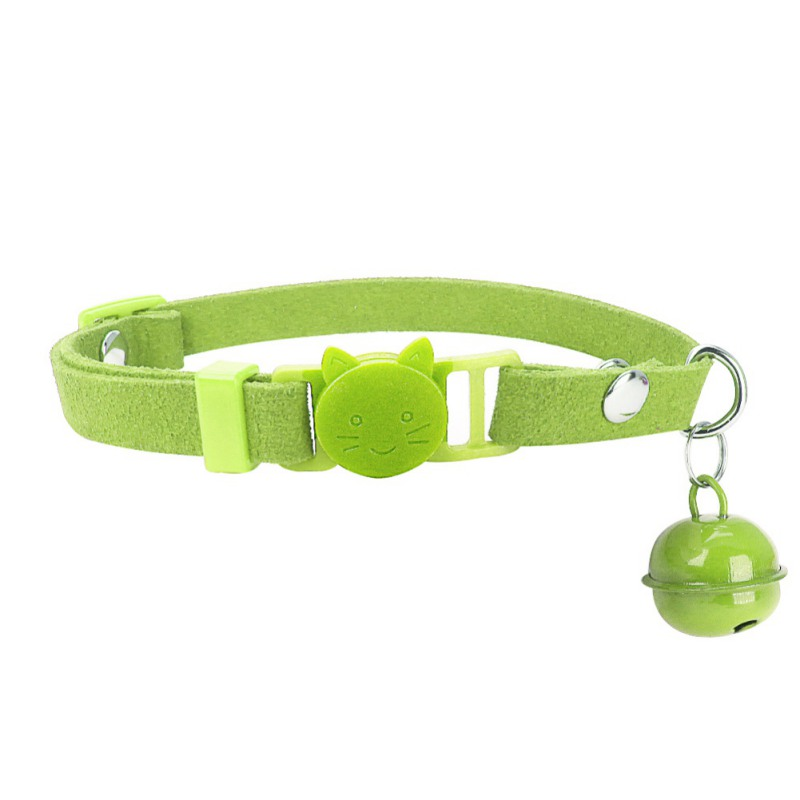 Pet Supplies Cat Bell Collar Safety Elastic Adjustable With Soft Velvet Material Pet Product Small Dog Accessories