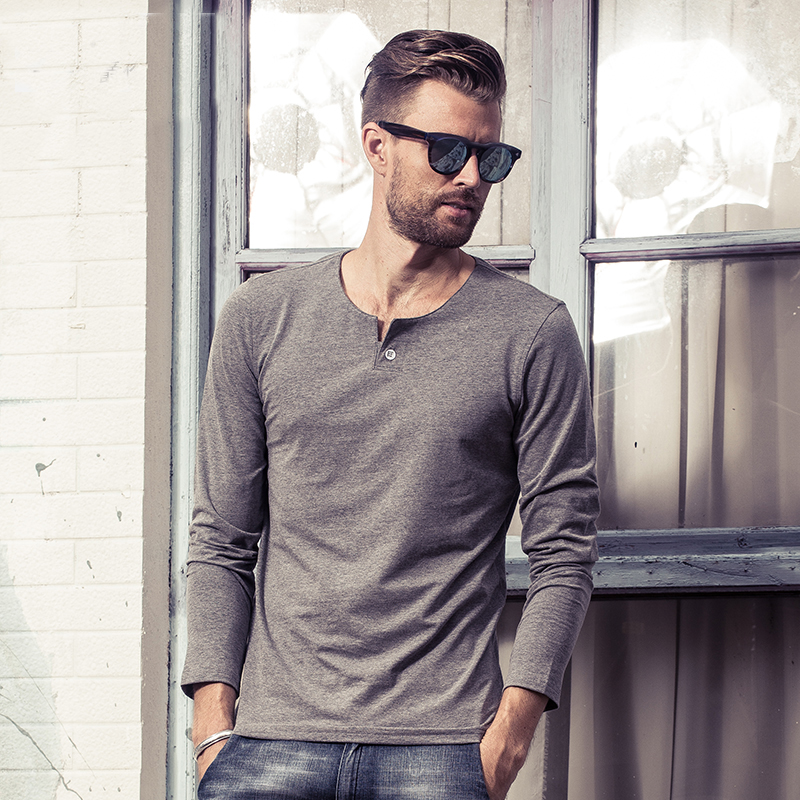 Compare Prices on T Shirts for Men V Neck- Online Shopping/Buy Low ...