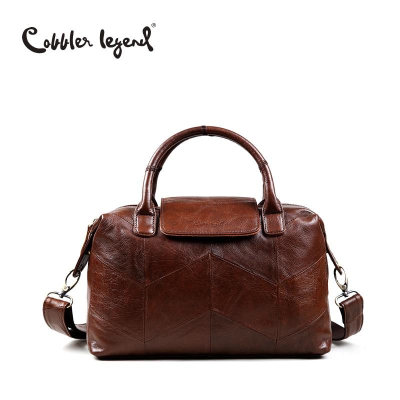 Cobbler Legend Genuine Leather Womens Handbag Retro 2017 New Arrival Women Crossbody Bags Female Handbags For Women #0900506-1