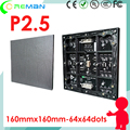 Aliexpress cheap dot led module rgb p2.5 /  p2.5 die casint cabinet led display screen module 480x480mm /  led panel wall module