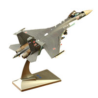 Brand New 1/72 Scale Plane Model Toys Sukhoi Su 35 Flanker E/Super Flanker Fighter Diecast Metal Plane Model Toy For Collection