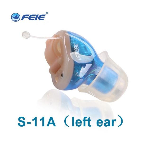 все цены на Free Shipping 2pcs /lot mini 2 channels Guangzhou prefessional hearing aid digital S-11A