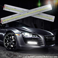 Cristal LED COB Daytime Running farol à prova d ' água Daylights condução amplamente Use Auto DRL High Power luz frontal de nevoeiro no carro