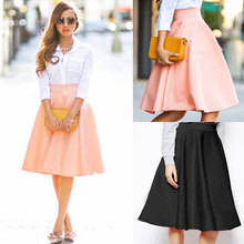 Pink flare skirt online shopping-the world largest pink flare ...