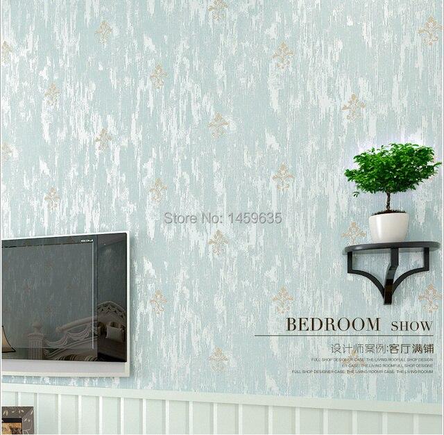 Wallpaper frischen amerikanischen blau grüne tapete kleine mode ...