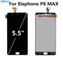 FOR elephone P8 MAX LCD Display+Touch Screen Assembly Replacement Accessories For phone elephone P8MAX LCD screen for elephone vowney lite touch screen sensor with lcd display panel assembly 100