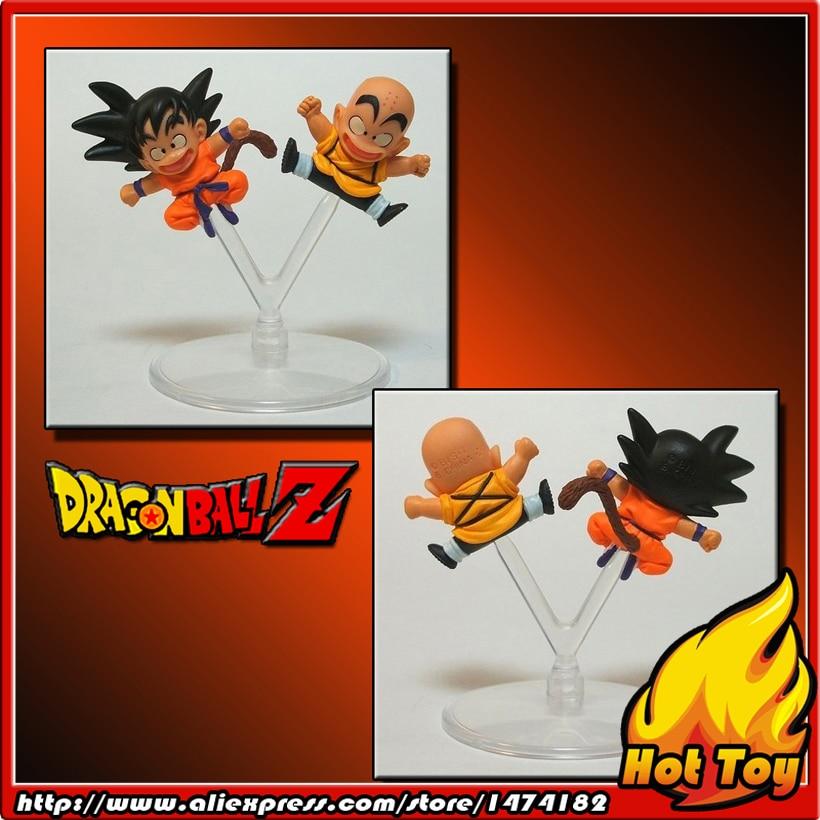 100% Original BANDAI Gashapon PVC Toy Figure HG Part 13 - Goku & Klilyn / Kuririn from Japan Anime Dragon Ball Z 100% original bandai gashapon pvc toy figure hg part 7 son goku super saiyan 3 from japan anime dragon ball z