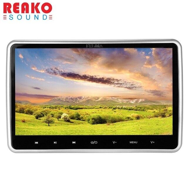 Kelima автомобиль видео плеер Поддержка 32 бита игры MP4 MP5 плеер 10.1 дюймов dvd-плеер Сенсорный экран с FM ИК Дистанционное управление