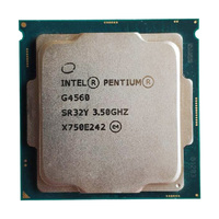 Intel pentium G4560 Dual Core 3.5GHz TDP 54W LGA 1151 14nm CPU l3 3MB Cache 6100 HD VGA Desktop Processor