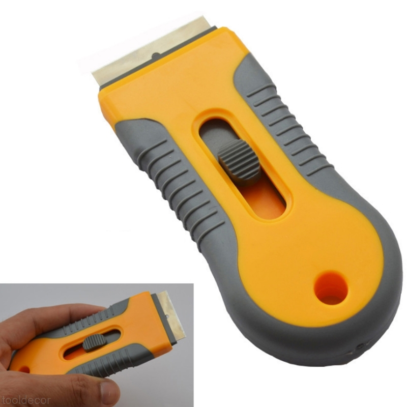 купить Plastic Handle Razor Scraper Ceramic Glass Oven Window Tinting Tool 1.57