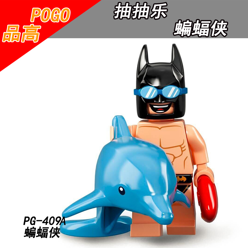 Legoing Supers Hero Movie Batman Small Figure Pg416 Jor-el Diy Toys Building Block Model Compatible With Legoings Marvel Blocks Model Building