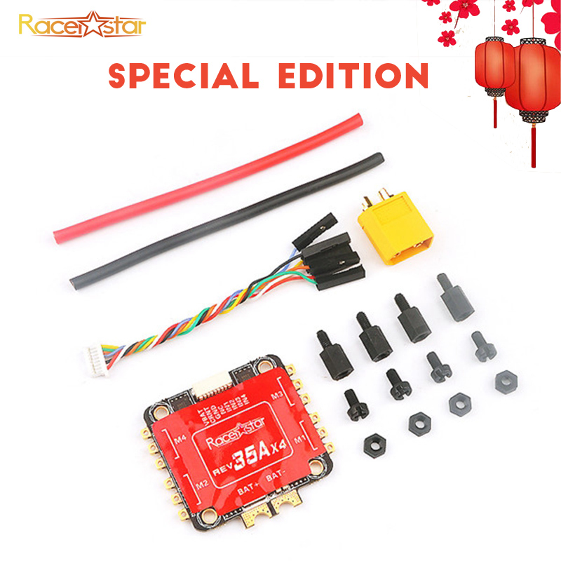 Special Edition Racerstar REV35 35A BLheli_S 3-6S 4 In 1 ESC Built-in Current Sensor for RC Racer Racing FPV Drone...