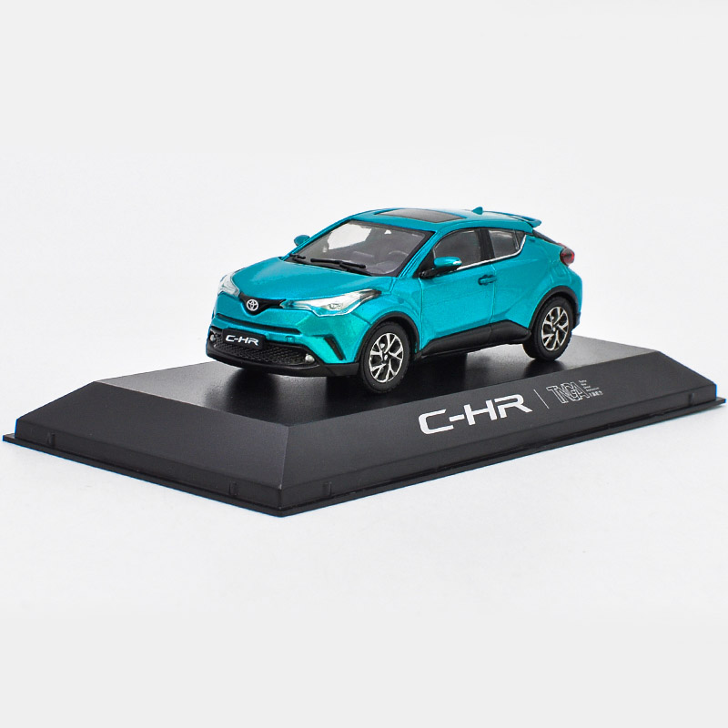 1:43 Alloy Toy Vehicles C HR CHR TOYOTA Sports Car Model Of Children's Toy Cars Original Authorized Authentic Kids Toys