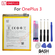 Get more info on the ONEPLUS Original Phone Battery For OnePlus 3 A3001 BLP613 2900/3000mAh High Quality Replacement Li-ion Batteries Free Tools