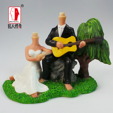 Wedding Cake Topper wedding gift custom avatar personality custom real doll custom clay dolls fixed resin body SR019