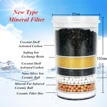 Multistage Activated Carbon Mineral Replacement Filter Cartridge 85 x 75 x 153(mm) For Mineral Water Dispenser Pot 5 stage water filter cartridge ceramic carbon mineral water pot can fit bench top dispenser purifier water pot