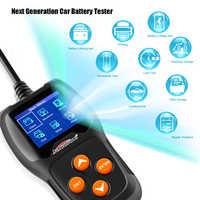 KONNWEI KW600 Tester Batteria Auto 12V Schermo a Colori Digitale Analizzatore di Batteria Auto 100 per 2000CCA A Gomito di Ricarica Auto Diagnostica