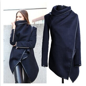 2014 Winter Coats Women Long Cashmere Overcoats Trench Desigual Jackets Designer Woman Wool Fur Manteau Abrigos Mujer - Gate Enterprise Co., Ltd store