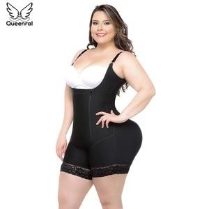 Image 1 - Eo Tập Bụng Tummy Shaper Tập Toàn Thân Nữ Người Mẫu Dây Đeo Giảm Béo Quần Lót Giảm Béo Định Fajas Mông Nâng Vỏ Bọc