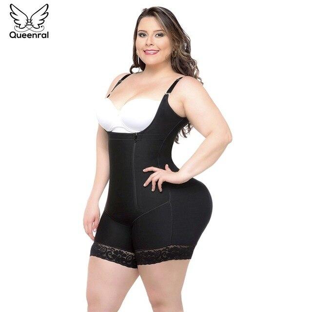 Eo Tập Bụng Tummy Shaper Tập Toàn Thân Nữ Người Mẫu Dây Đeo Giảm Béo Quần Lót Giảm Béo Định Fajas Mông Nâng Vỏ Bọc