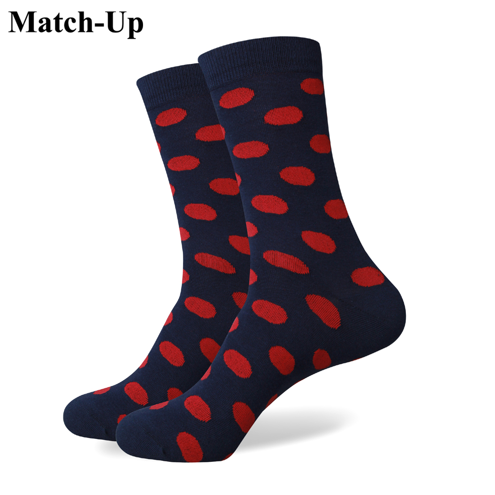 Match-Up Wholesale price Men's Colorful Cotton socks without LOGO offer customized label card US size(7.5-12) image