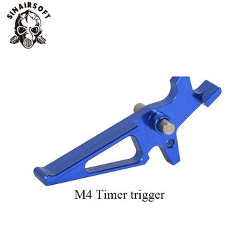 CNC Blue Machined Selector Lever Trigger Magazine Release Catch Suit For AEG M4/M16 Series Paintball Airsoft Hunting Accessories 4