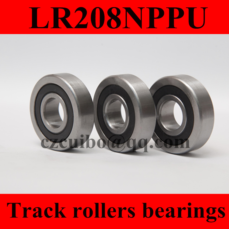 LR208NPPU  track roller bearings size:40*85*18mm LR208 staccato staccato st029ebhms75