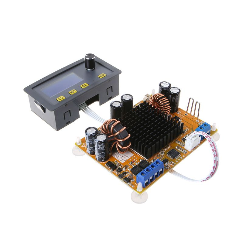 DC-to-DC Power Converter Adjustable Power Supply Module 5A Boost Module LCD Digital Automatic Step-up Step-down Voltage ModuleDC-to-DC Power Converter Adjustable Power Supply Module 5A Boost Module LCD Digital Automatic Step-up Step-down Voltage Module