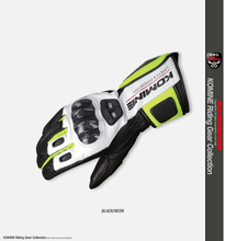New GK198 motorcycle gloves long touch screen gloves leather carbon fiber riding racing off-road anti-drop motorcycle off road racing rider anti touch screen leather gloves