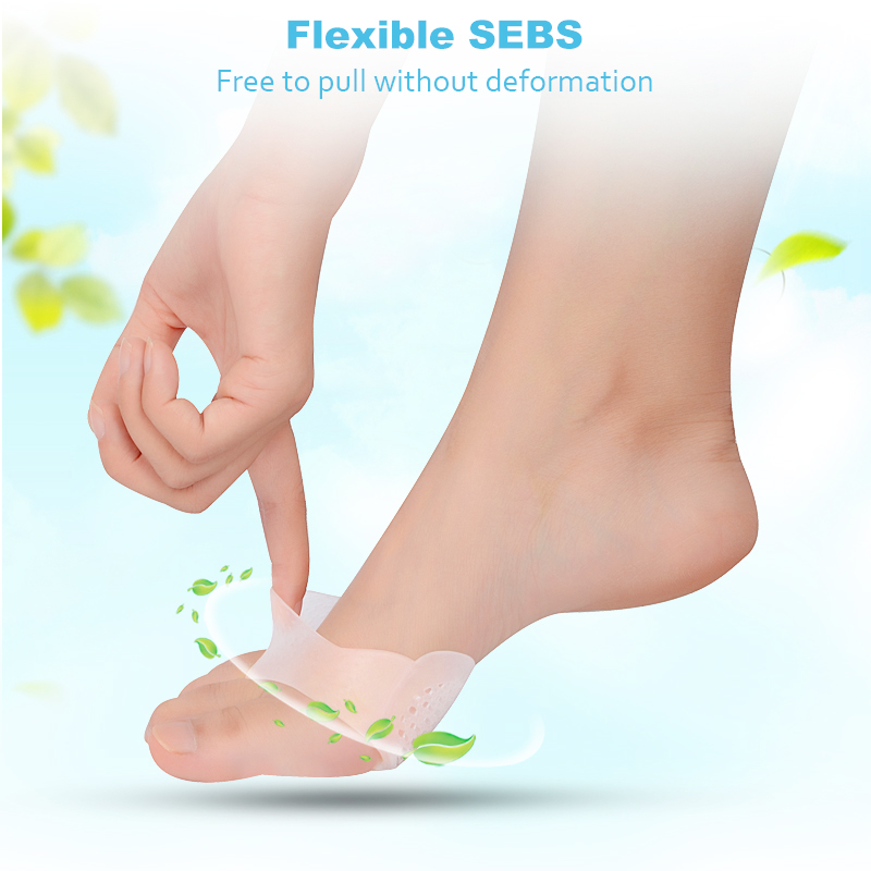 Silicone Gel Insoles Forefoot Pads for Women High Heel Shoes Insole Foot Blister Care Toes Insert Pad Wholesale Dropshipping 4