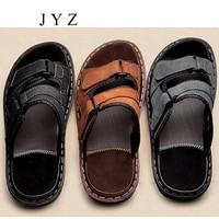 New Mens Sandals Slides Slippers Flats Summer Beach Shoes Big Size Large Leather Shoe Man Plus Big Large Size 45 46 bb0242