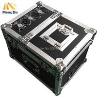 New 600w Professional haze machine dual hazer machine fog smoke machine dmx512 with flight case stage machie effect