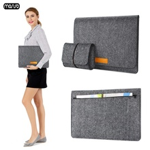 MOSISO New Soft Laptop Felt Bag Case For Macbook Air 13 Retina Pro Sleeve Cover with Mouse Pouch