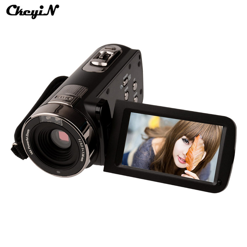 ФОТО 24MP Full HD Digital Camcorder 16X Zoom Night Vision Webcam With Remote Control Full HD 1920*1080P DVR80H-2930