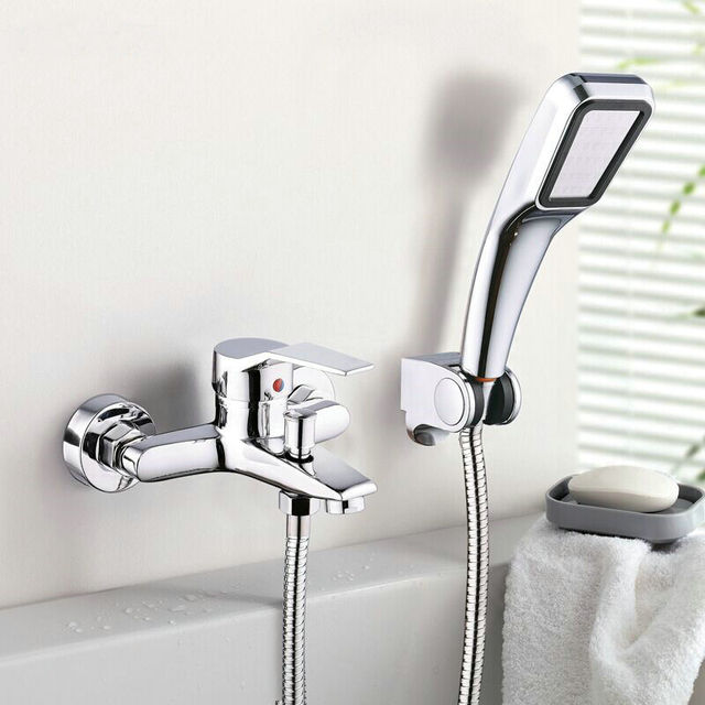 Bathroom Shower Faucet Bath Faucet Mixer Tap With Hand Shower Head